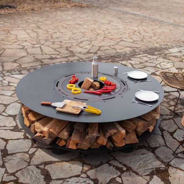 Купить Садовый камин-кострище Dr.Fire COMFORT Plus Ø149 см Нидерланды - 2000131 в магазине Grill Point