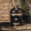 Керамический гриль Monolith Junior Black (Черный) без подставки - 201022-BLACK фото_3