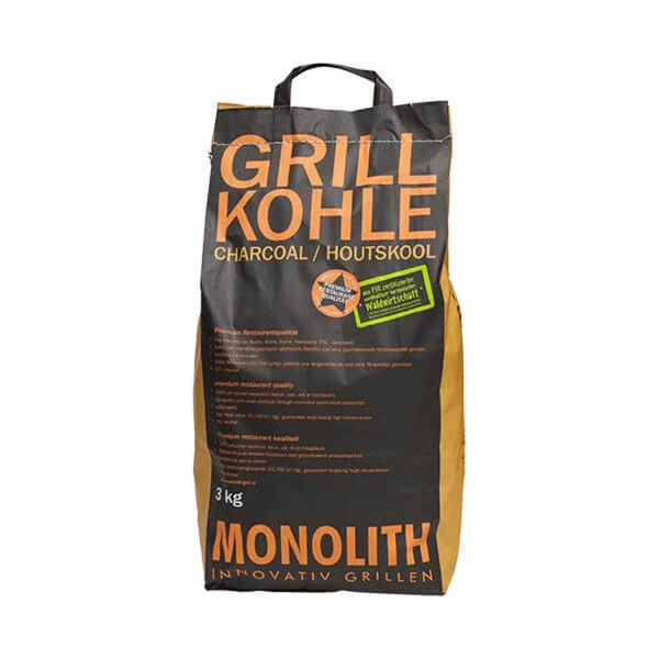 Купить Древесный уголь Monolith, 3 кг - 201091 в магазине Grill Point