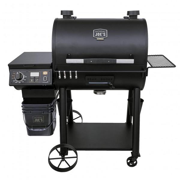 Купить Пеллетный гриль-коптильня Oklahoma Joe's RIDER DLX - 20209106 в магазине Grill Point