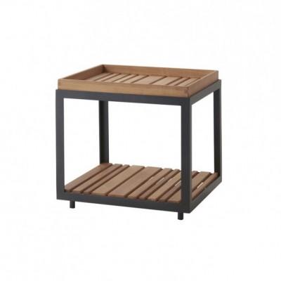 Столик приставной Level Teak 48 см