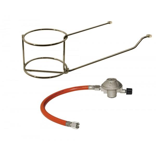 Купить Комплект для крепления газового картриджа (425 г) к моделям Enders Urban/Urban Pro/Urban Vario (редуктор, шланг, держатель) - 2092 в магазине Grill Point