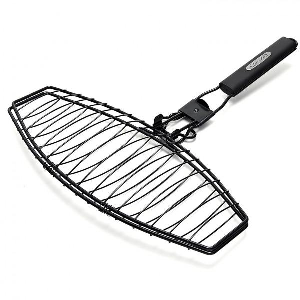 Купить Сетка для рыбы со сменной ручкой Grill Pro - 21015 в магазине Grill Point