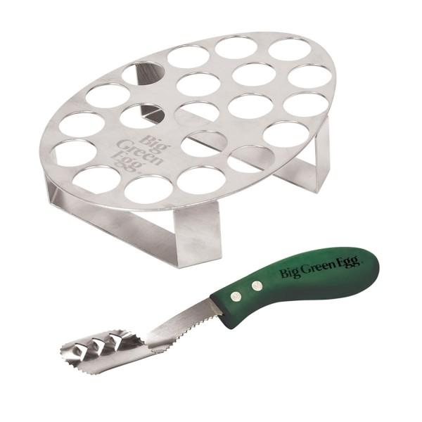Купить Подставка для 20 фаршированых перчиков с ножом - 2136 в магазине Grill Point