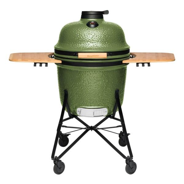 Купить Керамический угольный гриль BergHOFF, зеленый - 2415701 в магазине Grill Point