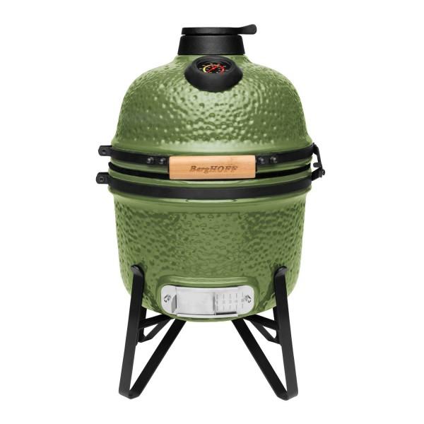 Купить Керамический угольный гриль BergHOFF мини, зеленый - 2415704 в магазине Grill Point