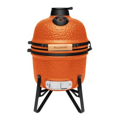 Керамический угольный гриль BergHOFF мини, оранжевый
