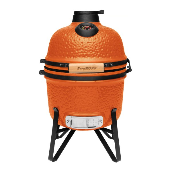 Купить Керамический угольный гриль BergHOFF мини, оранжевый - 2415705 в магазине Grill Point