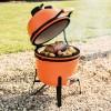 Керамический угольный гриль BergHOFF мини, оранжевый - 2415705 фото_8