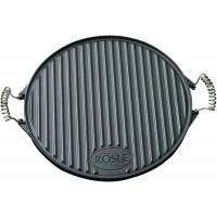 Круглая чугунная сковородка для гриля 40 см Rosle