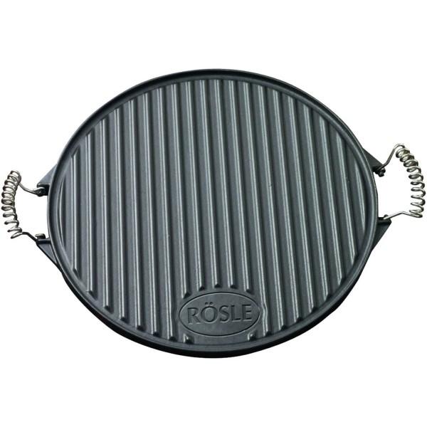 Купить Круглая чугунная сковородка для гриля 40 см Rosle - R25075 в магазине Grill Point