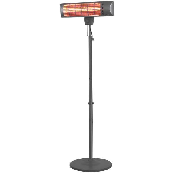 Купить Инфракрасный электрический обогреватель Eurom навесной / вертикальный QT 1800S Golden - 334166 в магазине Grill Point