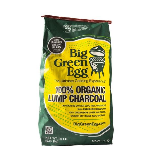 Купить Древесный уголь для гриля Big Green Egg 9 кг - 390011 в магазине Grill Point