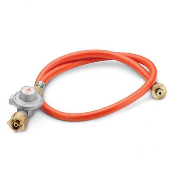 Купить Редуктор с шлангом для газового гриля Weber, 30 mbar - 40318402 в магазине Grill Point