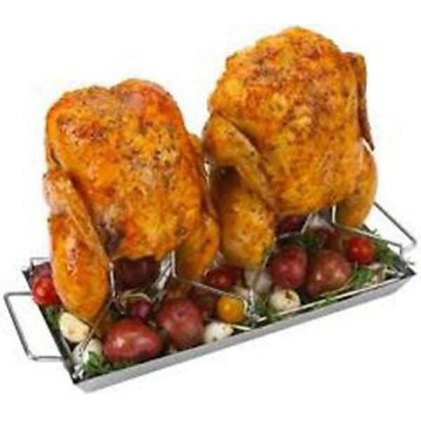 Купить Ростер для курицы двойной Grill Pro - 41442 в магазине Grill Point