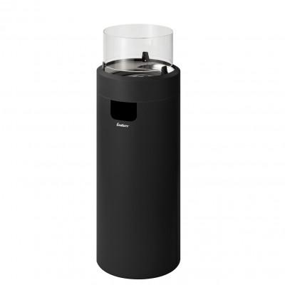 Газовый уличный камин Enders NOVA LED L, черный, 50 мбар (2,5 кВт)