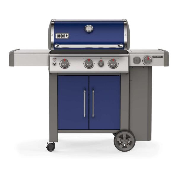 Купить Газовый гриль Weber GENESIS II EP-335 GBS, синий - 61086175 в магазине Grill Point