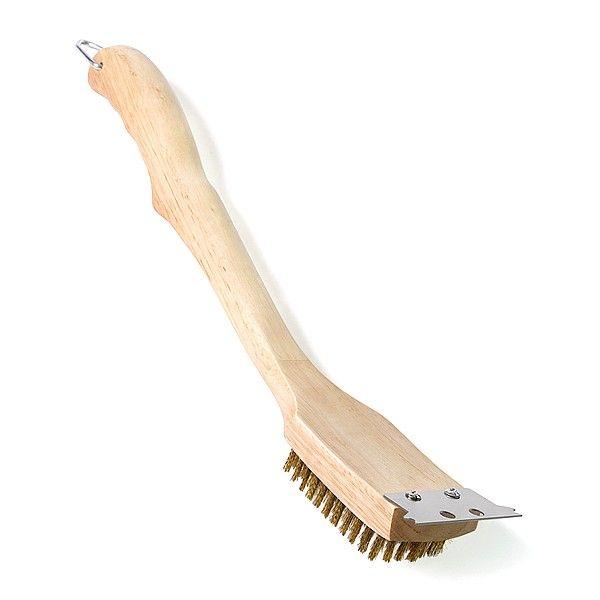 Купить Щетка для очистки решеток гриля с латунным ворсом, Napoleon - 62028 в магазине Grill Point