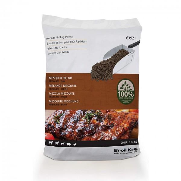 Купить Пеллеты для гриля MESQUITE BLEND Broil King, 9 кг - 63921 в магазине Grill Point