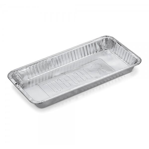 Купить Алюминиевый одноразовый поддон для жира для грилей WEBER  57 см, 5 шт - 6454 в магазине Grill Point