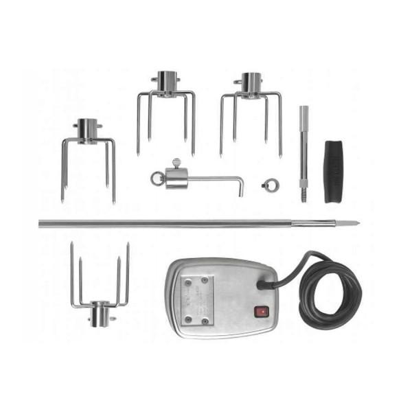Купить Вертел с 4-мя зажимами и электромотором для грилей моделей 825 Napoleon - 69532 в магазине Grill Point