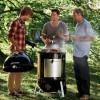 Угольная коптильня Weber Smokey Mountain Cooker, 57 см - 731004 фото_4