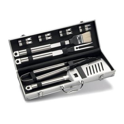 Набор инструментов для гриля в алюминиевом кейсе, 12 предметов Enders