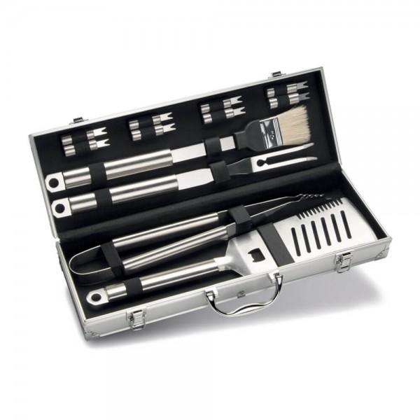 Купить Набор инструментов для гриля в алюминиевом кейсе, 12 предметов Enders - 8408 в магазине Grill Point