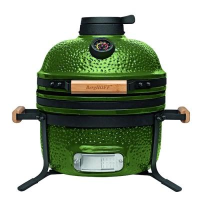 Керамический гриль BergHOFF Medium, 40 см, зеленый