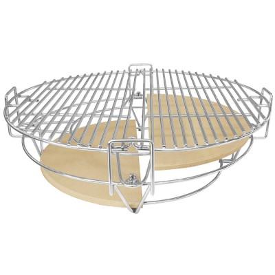 Многоуровневая решетка для большого гриля BergHOFF