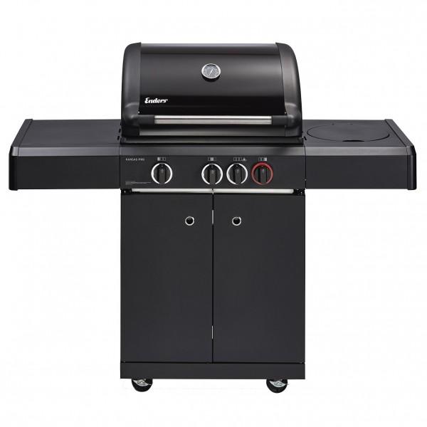 Купить Газовый гриль Enders Kansas  Black Pro 3 K Turbo new - 8706 в магазине Grill Point