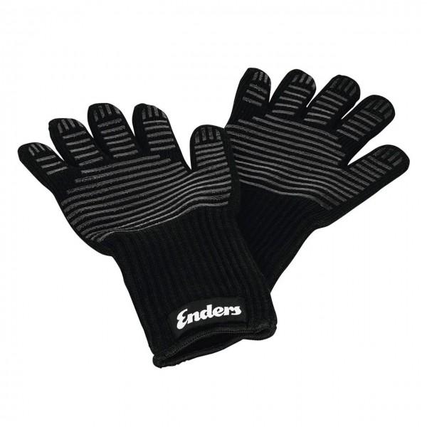 Купить Перчатки ENDERS для BBQ огнестойкие, материал-арамид, 1 пара, цвет черный - 8785 в магазине Grill Point