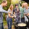 Чугунная сковорода Вок со вставкой-пароваркой и крышкой для Weber Gourmet BBQ System - 8856 фото_4
