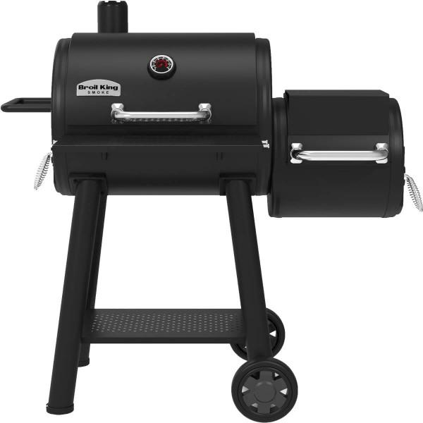Купить Угольная коптильня BroilKing SMOKE OFFSET - 955050 в магазине Grill Point