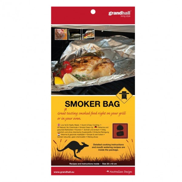 Купить Пакет для копчения GrandHall с ароматом виски - A06724002T в магазине Grill Point