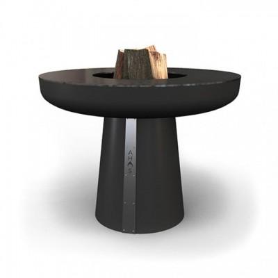 Гриль-очаг на дровах AHOS BIG SPHERE, 100 см, черный