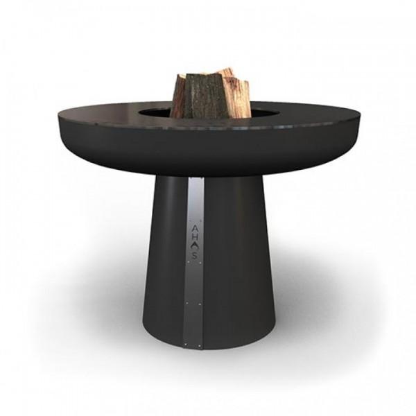 Купить Гриль-очаг на дровах AHOS BIG SPHERE, 100 см, черный - AHOS-BIG-SPHERE-2 в магазине Grill Point