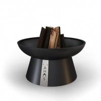Костровая чаша-очаг AHOS FIRE PIT 600, черный