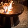 Костровая чаша-очаг AHOS FIRE PIT 600, черный - AHOS-FIRE-PIT-600 фото_2