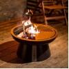 Костровая чаша-очаг AHOS FIRE PIT 600, черный - AHOS-FIRE-PIT-600 фото_3