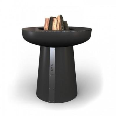 Гриль-очаг на дровах AHOS SPHERE, 75 см, черный