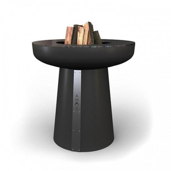 Купить Гриль-очаг на дровах AHOS SPHERE, 75 см, черный - AHOS-SPHERE-2 в магазине Grill Point
