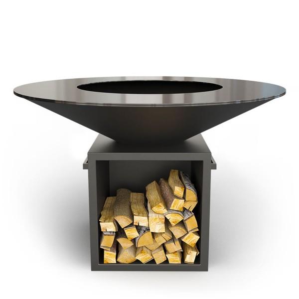 Купить Дровяной гриль-мангал AHOS BIG, черный - AHOS_BIG_BL в магазине Grill Point