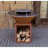 Дровяной гриль-мангал AHOS BOX, ржавый - AHOS_BOX_1000 фото_2