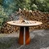 Гриль-мангал на дровах AHOS HIGH SPHERE, ржавый - AHOS_High_SPHERE фото_2