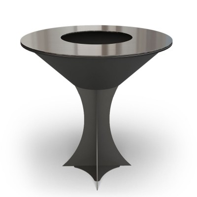 Дровяной гриль-мангал AHOS OLYMPIC 1000, черный