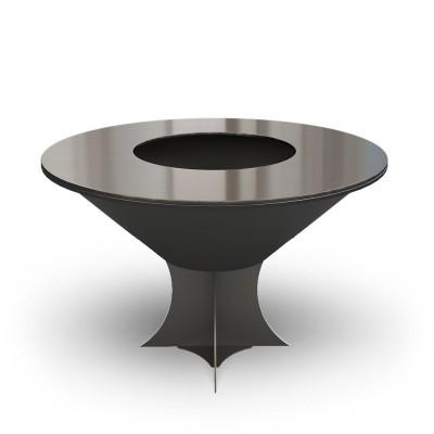 Дровяной гриль-мангал AHOS OLYMPIC 1000 LOW, черный