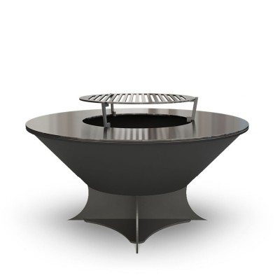 Дровяной гриль-мангал AHOS OLYMPIC 750 LOW, черный
