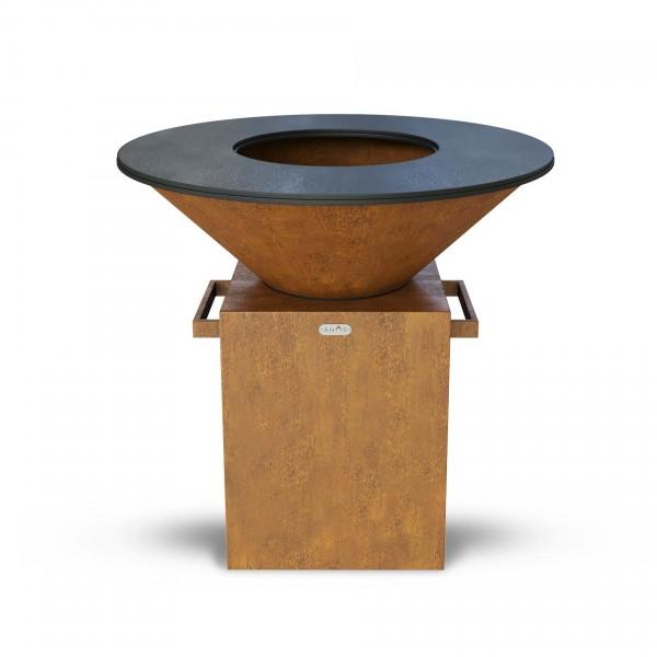 Купить Дровяной гриль-мангал AHOS ORIGINAL, ржавый - AHOS_ORIGINAL_1000 в магазине Grill Point