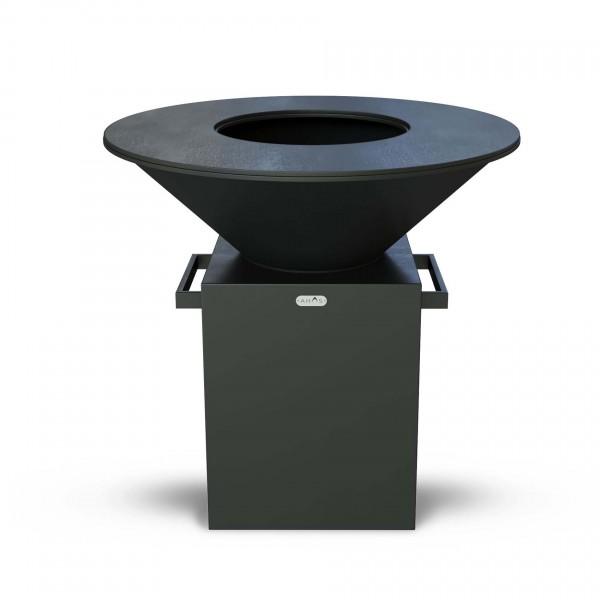 Купить Дровяной гриль-мангал AHOS ORIGINAL, черный - AHOS_ORIGINAL_1000_BL в магазине Grill Point